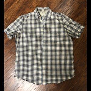 Banana Republic men's plaid shirt size medium